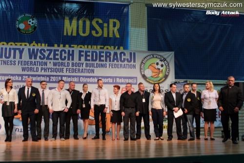 Debiuty Wszech Federacji WFF WBBF Ostrów Maz. 2015