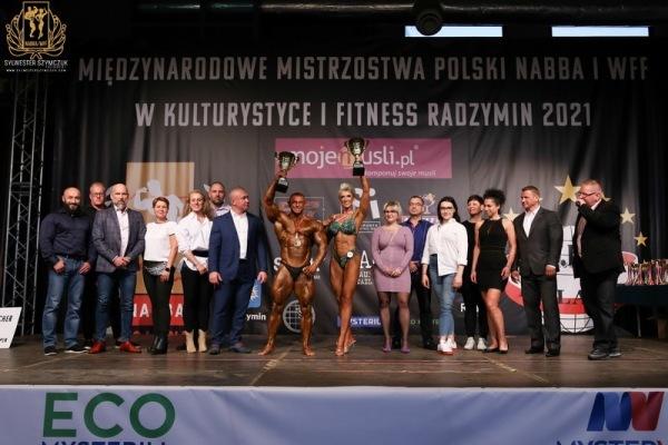 MISTRZOSTWA POLSKI NABBA I WFF W KULTURYSTYCE I FITNESS 2021